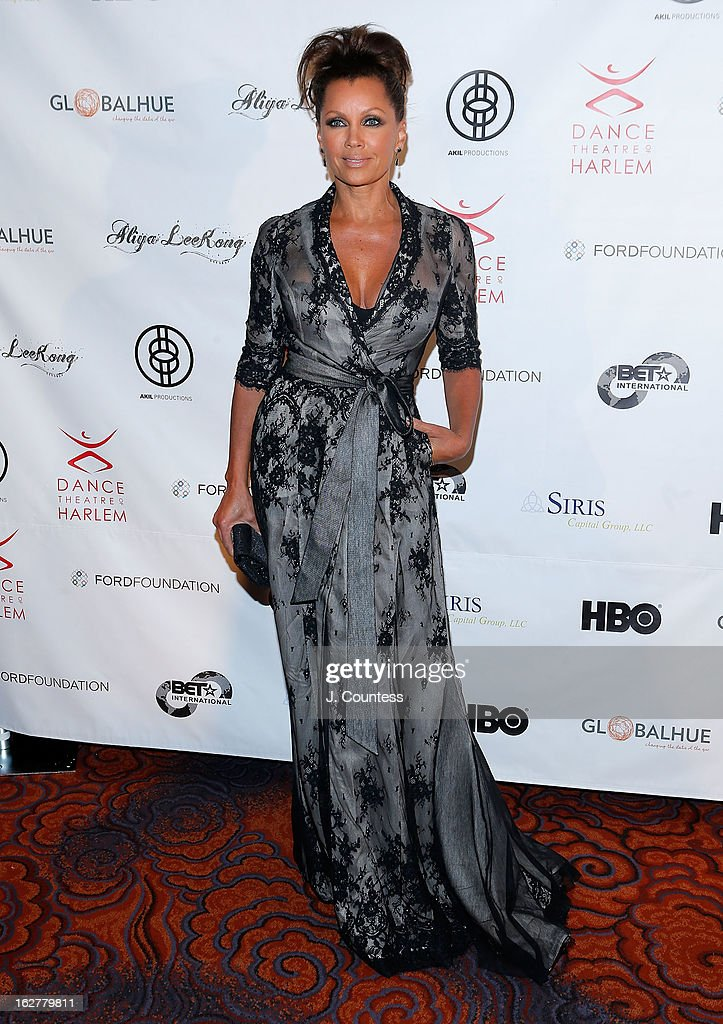 Actress/singer Vanessa Williams attends the Dance Theatre Of Harlem's 44th Anniversary Celebration at Mandarin Oriental Hotel on February 26, 2013 in New York City.