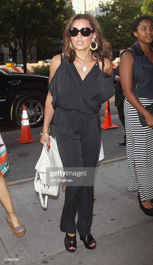 Actress/singer Vanessa Williams attends the Lionsgate And Roadside Attractions With The Cinema Society Screening Of 'Girl Most Likely' at Landmark's Sunshine Cinema on July 15, 2013 in New York City.