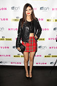 Actress/singer Victoria Justice attends NYLON x Aloft Hotels celebrate The Music Issue with cover star HAIM on May 26 2014 in Los Angeles California