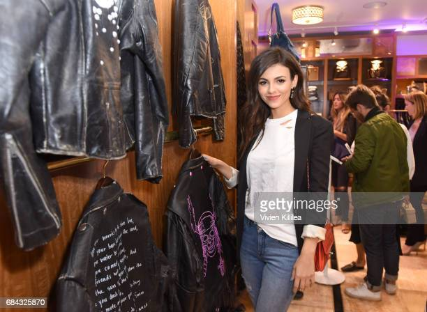 Actress/Singer Victoria Justice attends the Pirates of the Caribbean special event at What Goes Around Comes Around on May 17 2017 in Beverly Hills...