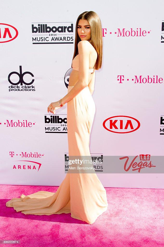 Actress/singer Zendaya arrives at the 2016 Billboard Music Awards at T-Mobile Arena on May 22, 2016 in Las Vegas, Nevada.