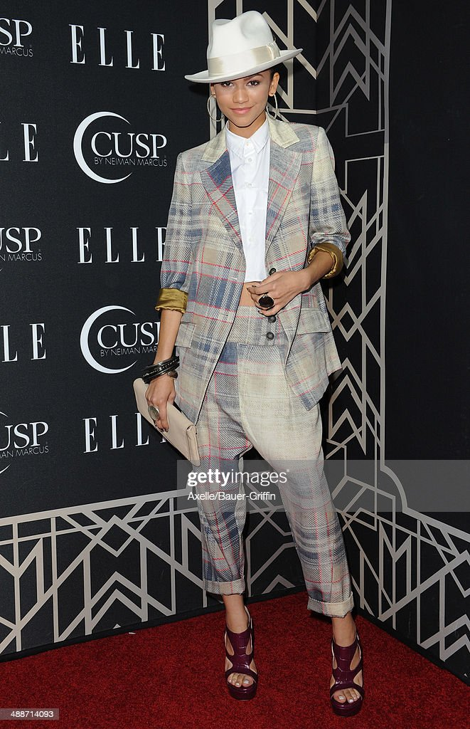 Actress/singer Zendaya attends ELLE's 5th Annual Women In Music concert celebration at Avalon on April 22, 2014 in Hollywood, California.