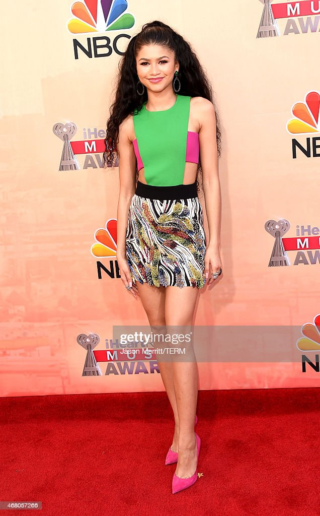 Actress/singer Zendaya attends the 2015 iHeartRadio Music Awards which broadcasted live on NBC from The Shrine Auditorium on March 29 2015 in Los...