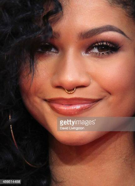 Actress/singer Zendaya attends the 42nd Annual American Music Awards at the Nokia Theatre LA Live on November 23 2014 in Los Angeles California