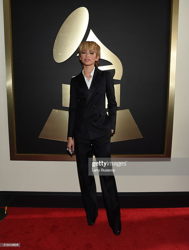 Actress/singer Zendaya attends The 58th GRAMMY Awards at Staples Center on February 15 2016 in Los Angeles California