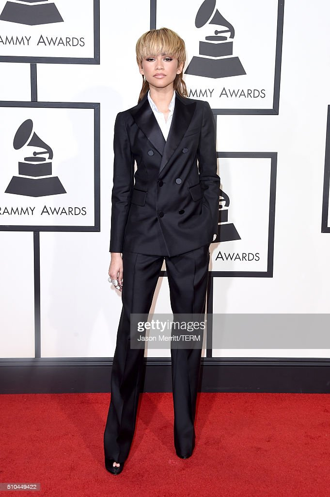 Actresssinger Zendaya attends The 58th GRAMMY Awards at Staples Center on February 15 2016 in Los Angeles California