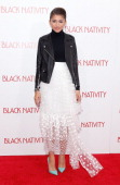 Actress/singer Zendaya attends the 'Black Nativity' premiere at The Apollo Theater on November 18 2013 in New York City