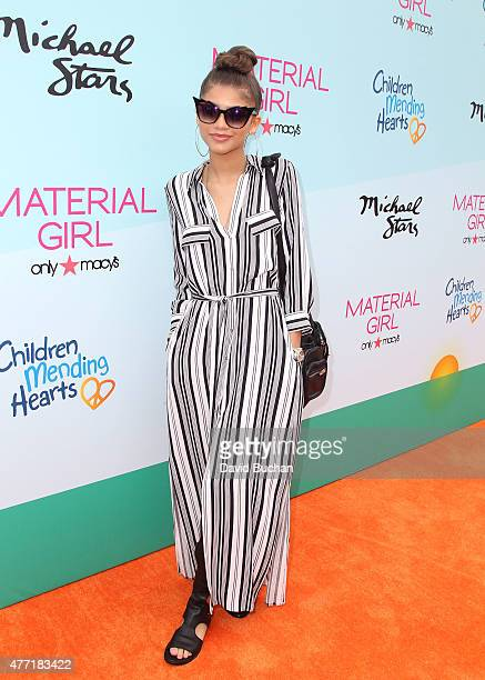 Actresssinger Zendaya attends the Children Mending Heart's 7th Annual Empathy Rocks Fundraiser on June 14 2015 in Malibu California