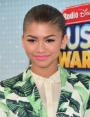 Actress/singer Zendaya Coleman arrives to the 2013 Radio Disney Music Awards at Nokia Theatre LA Live on April 27 2013 in Los Angeles California
