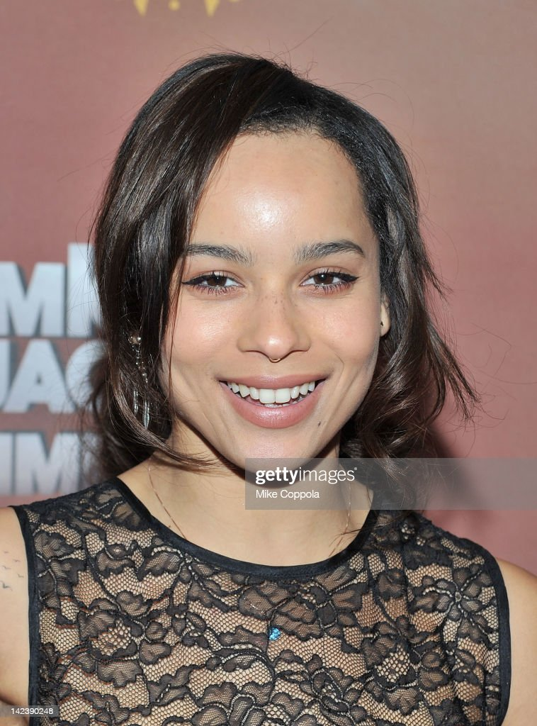 Actress/singer Zoe Kravitz attends Michael Jackson THE IMMORTAL World Tour show by Cirque du Soleil at Madison Square Garden on April 3, 2012 in New York City.
