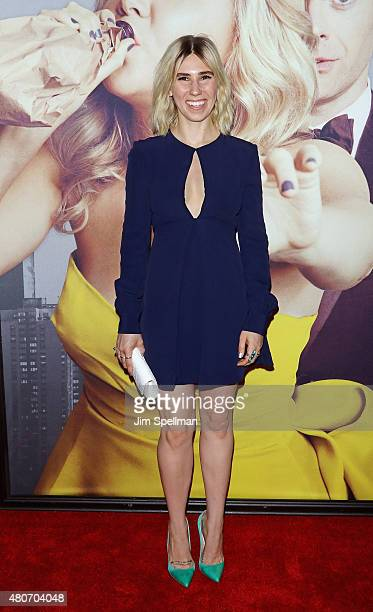 Actress/singer Zosia Mamet attends the 'Trainwreck' New York premiere at Alice Tully Hall on July 14 2015 in New York City