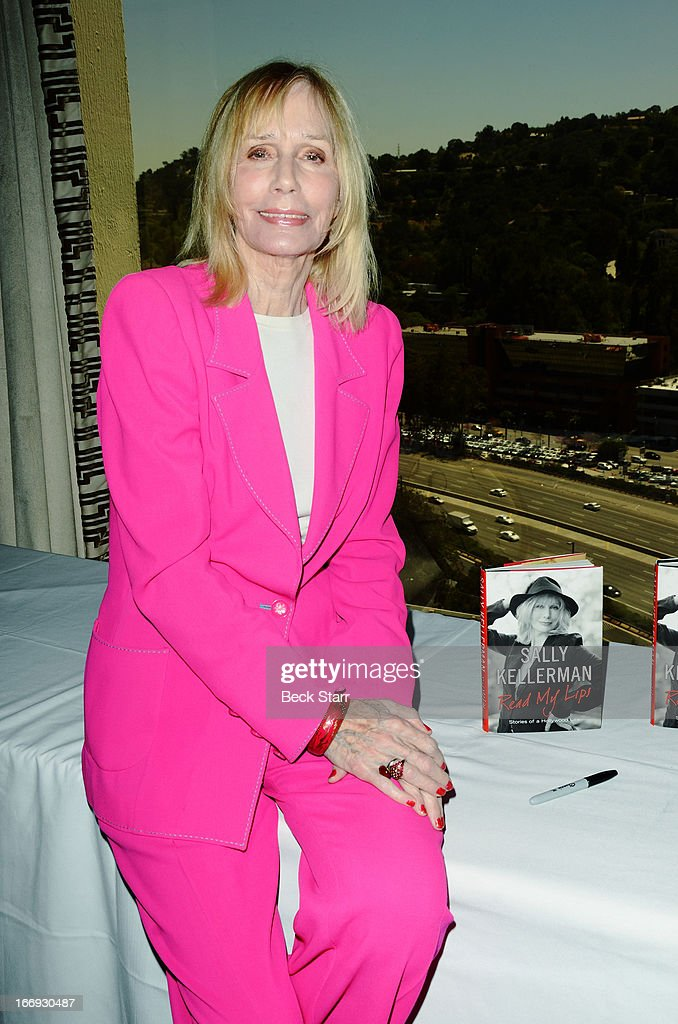 Actress/singer/author Sally Kellerman signs copies of her book 'Read My Lips, Stories of a Hollywood Life' after being honored at The Hollywood Chamber Of Commerce 92nd Annual Installation & Lifetime Achievement Awards luncheon at Sheraton Universal on April 18, 2013 in Universal City, California.