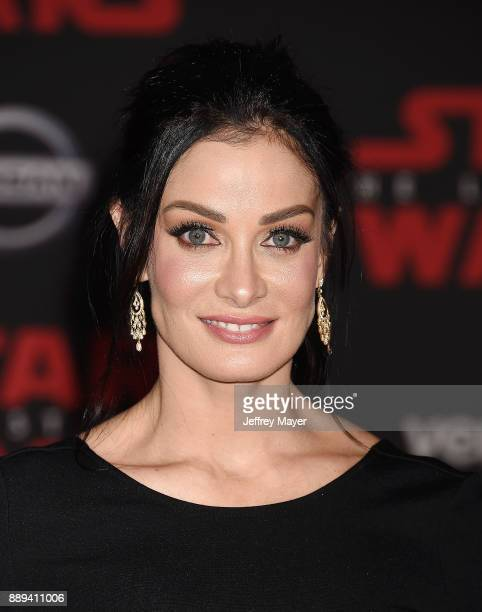 Actress/singer/dancer Dayanara Torres attends the premiere of Disney Pictures and Lucasfilm's 'Star Wars The Last Jedi' at The Shrine Auditorium on...