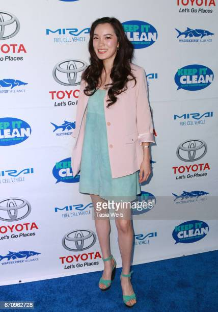 Actress/singersongwriter Jessika Van attends Keep it Clean Live Comedy Benefit for Waterkeeper Alliance at Avalon Hollywood on April 20 2017 in Los...