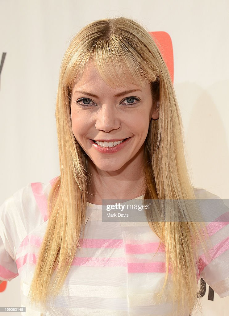Actress/songwriter Riki Lindhome of Garfunkel and Oates attends 'The Big Live Comedy Show' presented by YouTube Comedy Week held at Culver Studios on May 19, 2013 in Culver City, California.