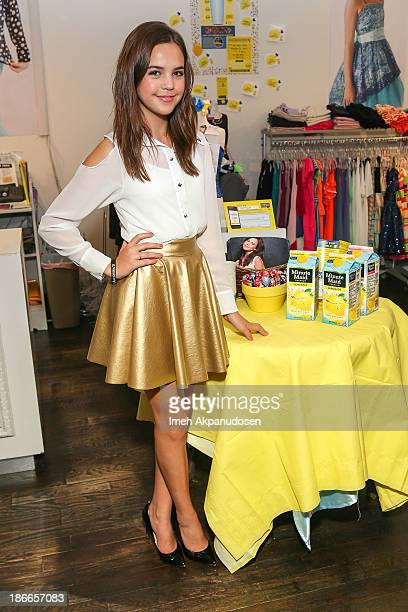 Actress/Spokesperson Bailee Madison hosts 'Alex's Lemonade Stand Foundation' at Un Deux Trois on November 2 2013 in Studio City California