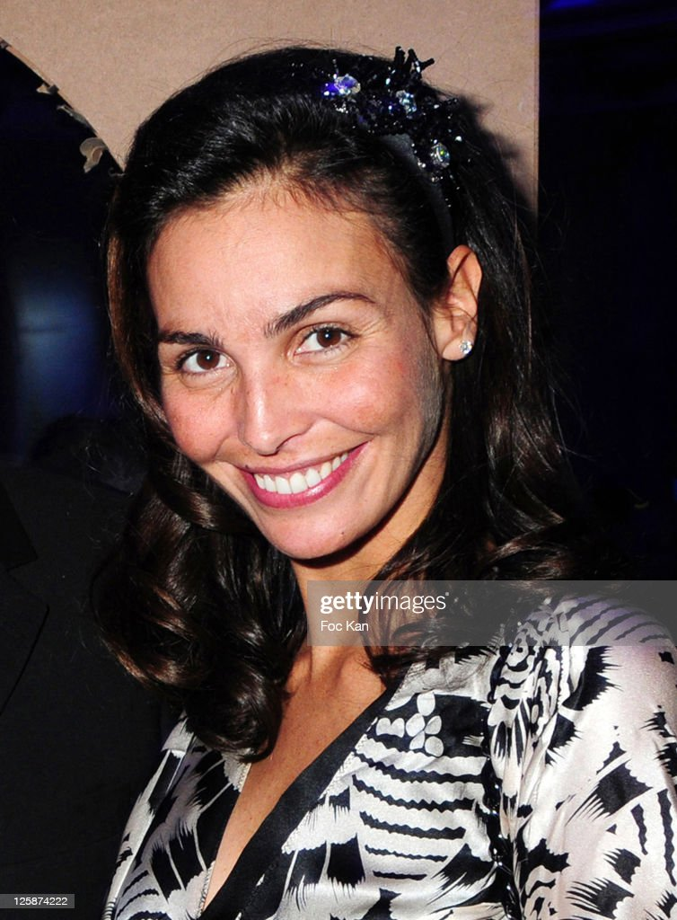 Actress/super model Ines Sastre attends the Bal Jaune Fiac 2010 at the Pavillon Cambon Capucines on October 22 2010 in Paris France