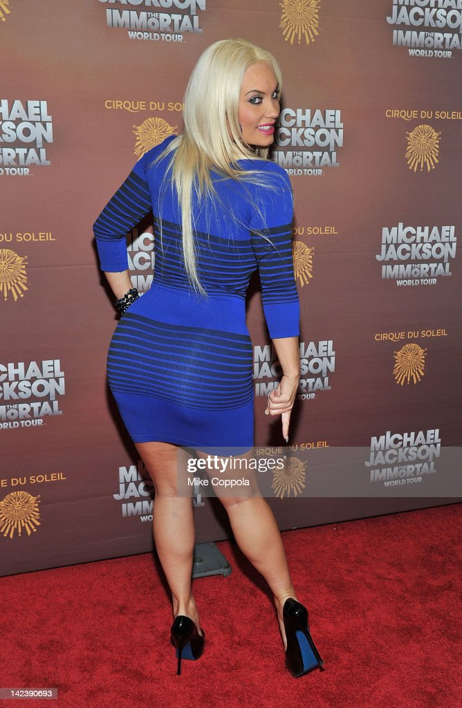 Actress/television personality Coco Austin attends Michael Jackson THE IMMORTAL World Tour show by Cirque du Soleil at Madison Square Garden on April 3, 2012 in New York City.