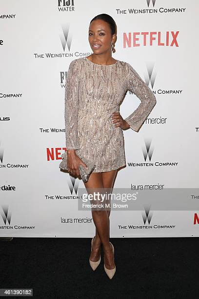 Actress/TV Personality Aisha Tyler attends the 2015 Weinstein Company and Netflix Golden Globes After Party at Robinsons May Lot on January 11 2015...