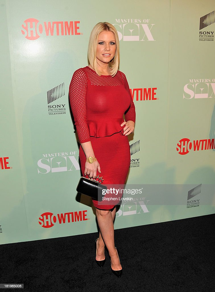 Actress/TV personality <a gi-track='captionPersonalityLinkClicked' href=/galleries/search?phrase=Carrie+Keagan&family=editorial&specificpeople=2247557 ng-click='$event.stopPropagation()'>Carrie Keagan</a> attends The 'Masters Of Sex' New York Series Premiere at The Morgan Library & Museum on September 26, 2013 in New York City.