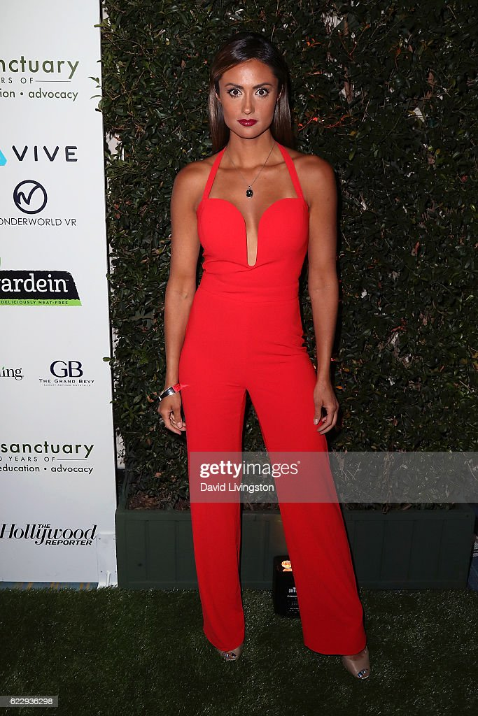 Actress/TV personality Katie Cleary attends the Farm Sanctuary's 30th Anniversary Gala at the Beverly Wilshire Four Seasons Hotel on November 12, 2016 in Beverly Hills, California.
