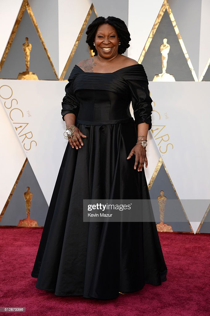 Actress/TV personality Whoopi Goldberg attends the 88th Annual Academy Awards at Hollywood Highland Center on February 28 2016 in Hollywood California