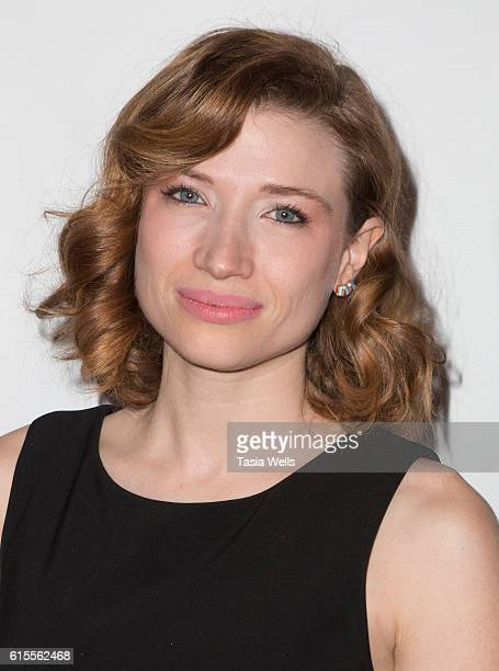 Actress/writer Amanda Jaros attends the Film2Future Inaugural Screenings and Awards Ceremony at Taglyan Complex on October 18 2016 in Los Angeles...