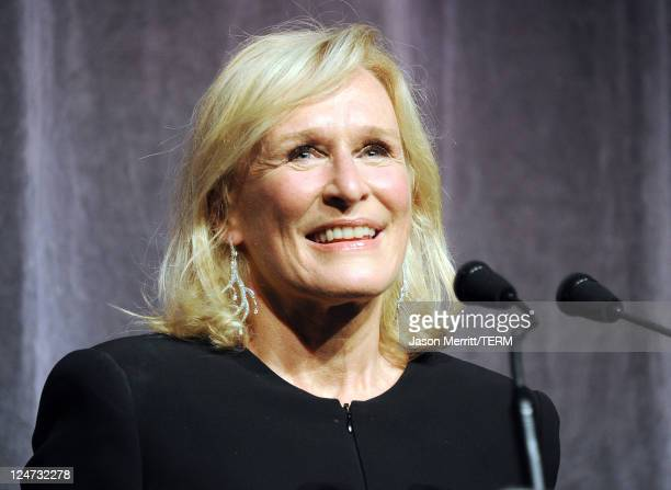 Actress/writer Glenn Close arrives at the premiere of 'Albert Nobbs' at Roy Thomson Hall during the 2011 Toronto International Film Festival on...