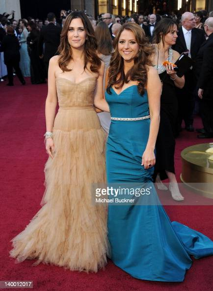 Actresswriter Kristen Wiig and screenwriter Annie Mumolo arrive at the 84th Annual Academy Awards held at the Hollywood Highland Center on February...