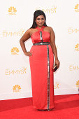 Actress/writer Mindy Kaling attends the 66th Annual Primetime Emmy Awards held at Nokia Theatre LA Live on August 25 2014 in Los Angeles California