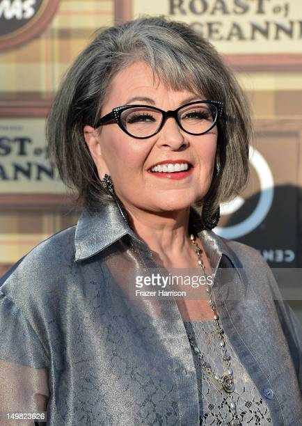 Actress/writer Roseanne Barr arrives at the Comedy Central Roast of Roseanne Barr at Hollywood Palladium on August 4 2012 in Hollywood California