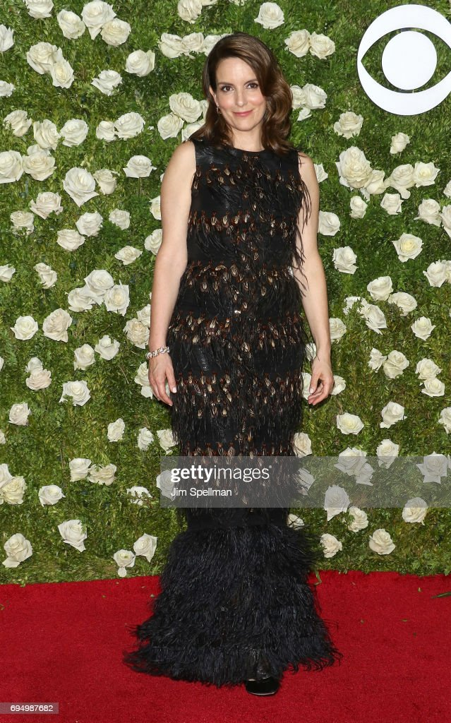 Actress/writer Tina Fey attends the 71st Annual Tony Awards at Radio City Music Hall on June 11, 2017 in New York City.