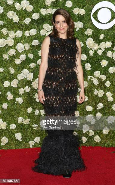 Actress/writer Tina Fey attends the 71st Annual Tony Awards at Radio City Music Hall on June 11 2017 in New York City