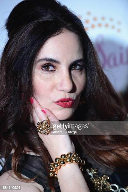 Actress/writer Vida Ghaffari at Sai Suman's Official Hollywood Runway Fashion Show held at Sofitel Hotel on April 11 2017 in Los Angeles California