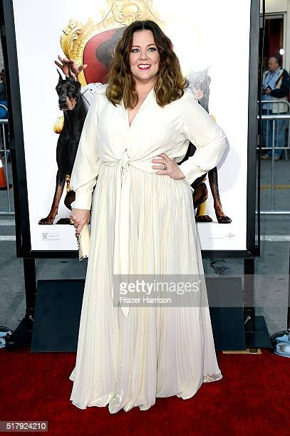 Actress/writer/producer Melissa McCarthy attends the premiere of USA Pictures' 'The Boss' at Regency Village Theatre on March 28 2016 in Westwood...