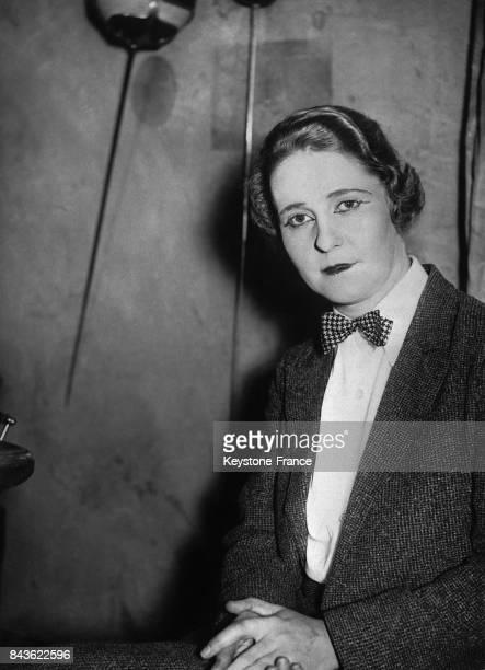 L'actrice allemande Emmy Sonnemann dans Schlageter la pièce de H Johst et qui serait la fiancée de Göring à Berlin Allemagne le 27 décembre 1934