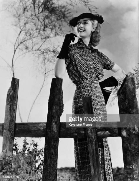 L'actrice Anita Louise EtatsUnis le 2 avril 1936