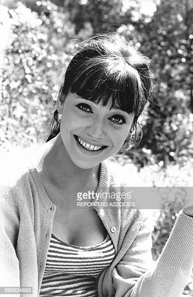 L'actrice Anna Karina circa 1960 en France