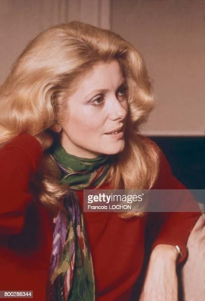L'actrice Catherine Deneuve circa 1970 en France