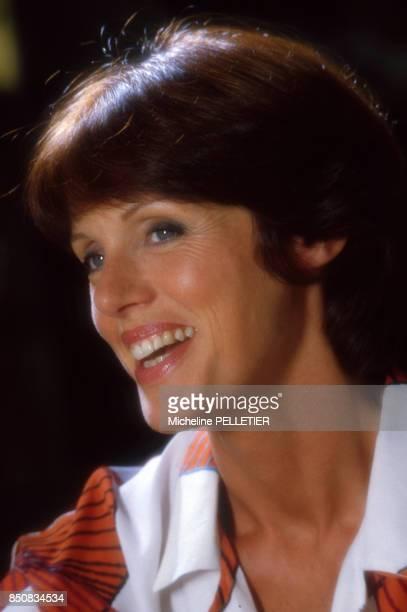 L'actrice française Anny Duperey à Paris le 20 septembre 1985 France