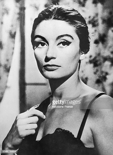 L'actrice française Anouk Aimée