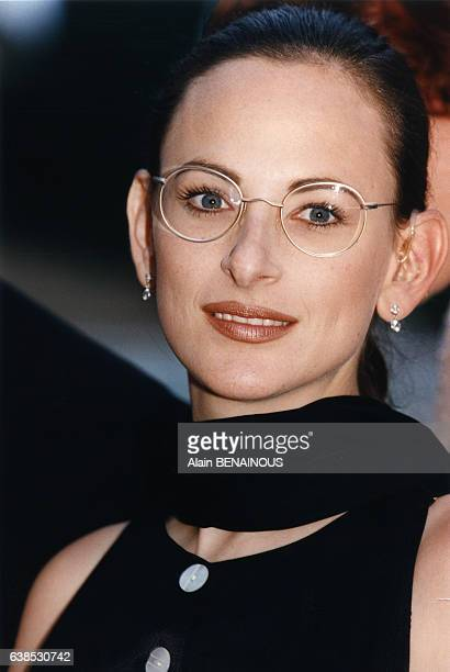 L'actrice Marlee Matlin le 30 juin 1996 à Nice France