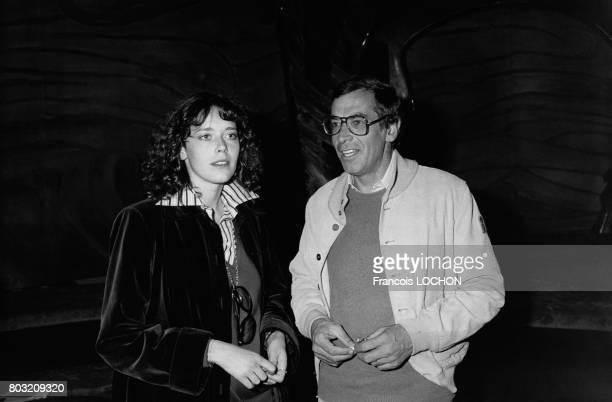 L'actrice néerlandaise Sylvia Kristel et le réalisateur Roger Vadim