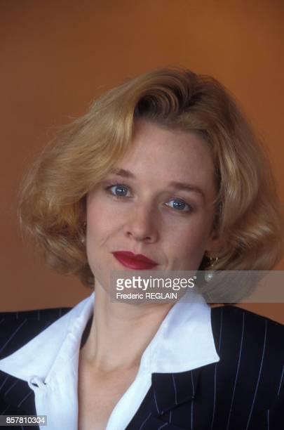L'actrice Penelope Ann Miller au Festival du Cinema Americain en septembre 1994 a Deauville France