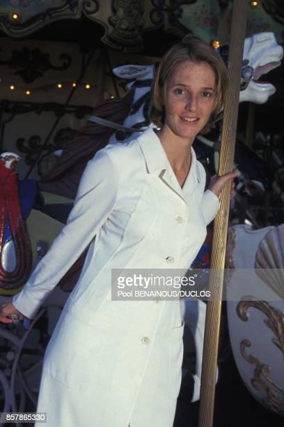 L'actrice Sandrine Kiberlain au Festival du Film le 20 mai 1994 a Cannes France