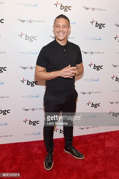 Actro Theo Rossi attends Annual Charity Day hosted by Cantor Fitzgerald BGC and GFI at BGC Partners INC on September 12 2016 in New York City