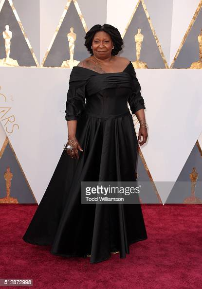Actro Whoopi Goldberg attends the 88th Annual Academy Awards at Hollywood Highland Center on February 28 2016 in Hollywood California