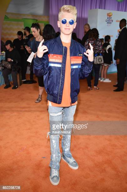 Actror Carson Lueders at Nickelodeon's 2017 Kids' Choice Awards at USC Galen Center on March 11 2017 in Los Angeles California