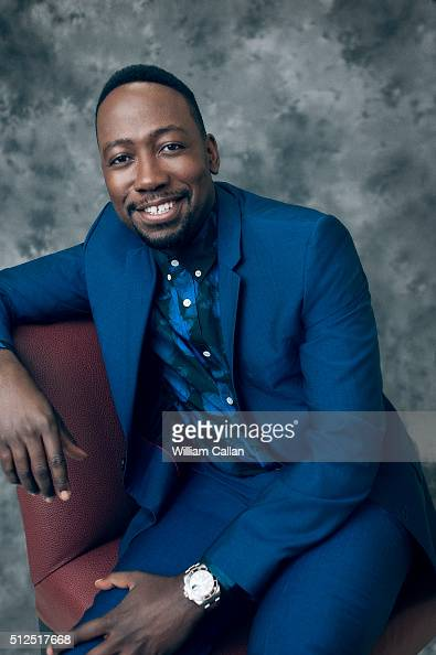 Actror Lamorne Morris poses for a portrait at the 18th Costume Designers Guild Awards at The Beverly Hilton Hotel on February 23 2016 in Beverly...