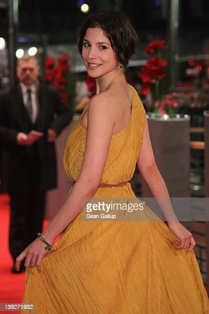 Actrss Aylin Tezel attends the Closing Ceremony during day ten of the 62nd Berlin International Film Festival at the Berlinale Palast on February 18...